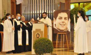 قداس للرهبانية المريمية في دير سيدة اللويزة احتفالا بذخائر الطوباوي كارلو image