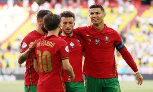إصابة مهاجم منتخب البرتغال قبيل مواجهة لوكسمبورغ image