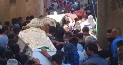 وادي الجاموس شيعت ضحاياها وتخوف من التداعيات image