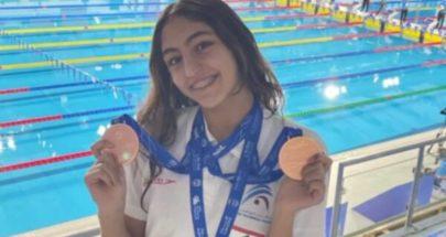 3 ميداليات لبنانية في البطولة العربية للسباحة image