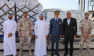 قطر... 70 طنا من المواد الغذائية وصلت الى لبنان image