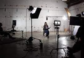 بالصورة: ممثلة لبنانية تصوّر مسلسلاً أميركياً image