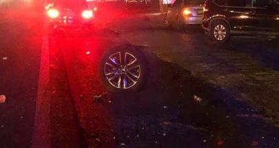 بالصور: الفنان وائل كفوري يتعرض لحادث سير مروع image