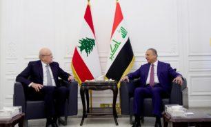 المشتقات النفطية شهريا .. مباحثات بين ميقاتي والجانب العراقي image