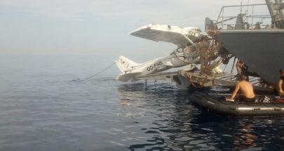 بالصور: الجيش يسحب طائرة حالات image