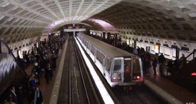 شبكة مترو أنفاق واشنطن تعلق عمل 60 في المئة من أسطولها image
